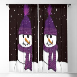 The Armless Snowman Blackout Curtain