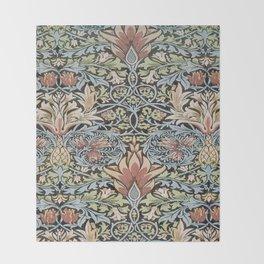 Art work of William Morris 6 Throw Blanket