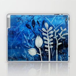 Secret Indigo Garden Laptop & iPad Skin