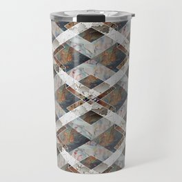 Geometric Collage Travel Mug