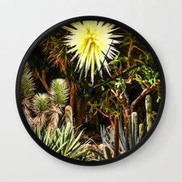 Desert Glass Wall Clock