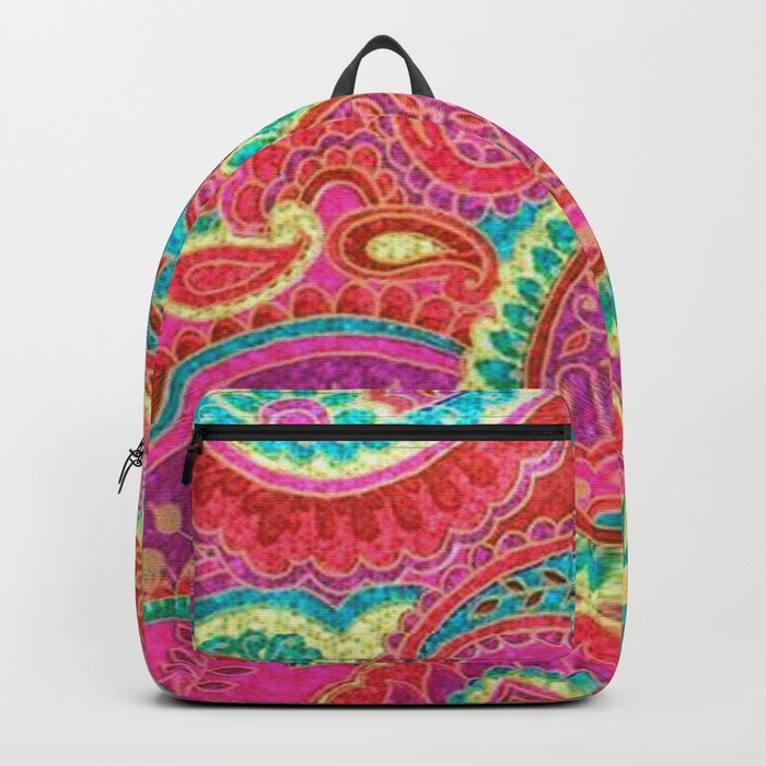 Floral Paisley Pattern 07 Backpack