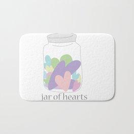 Jar of Hearts Bath Mat