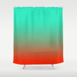 Heating Up In Miami Shower Curtain