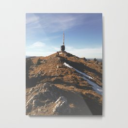 Chasseral Metal Print