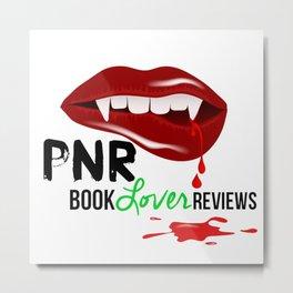 PNR Book Lover Reviews Metal Print
