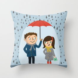Chivalry Throw Pillow
