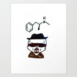 Breaking Bad Heisenberg Art Print
