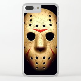 Friday 13th Jason Mask Clear iPhone Case