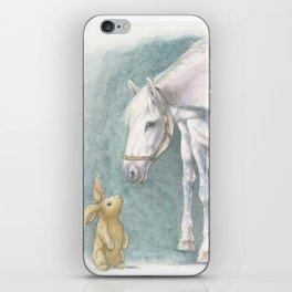 Velveteen Rabbit iPhone Skin