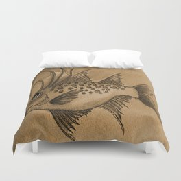Great Expectations SEPIA Duvet Cover