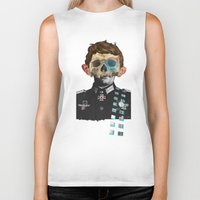 justin timberlake Biker Tanks featuring War Collage 2 by Marko Köppe