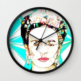 ICONS: Frida Kahlo Wall Clock