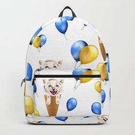 Party cat pattern Backpack