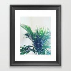 The Palm Framed Art Print