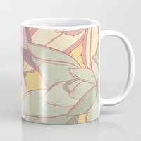 succulents Mugs featuring Succulents by Julia Walters Illustration