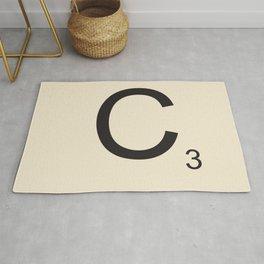 Scrabble C Rug