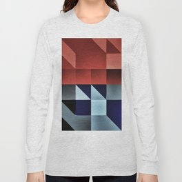 :: geometric maze IX :: Long Sleeve T-shirt
