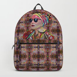 Portrait of a Fancy Lady Backpack