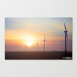 Indiana Sunrise Canvas Print
