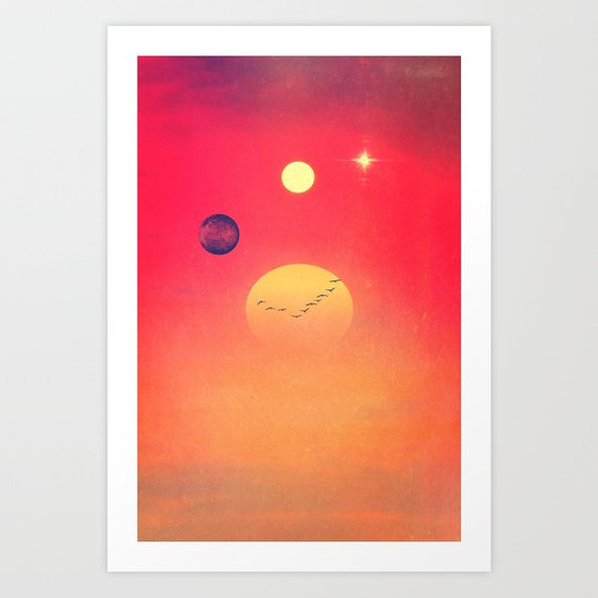 Empire of the Sun Art Print