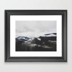 Mt. Rainier National Park Framed Art Print