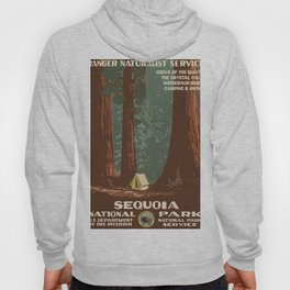 Vintage poster - Sequoia National ParkX Hoody