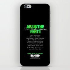ABSINTHE VERTE iPhone & iPod Skin