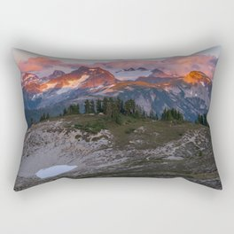 Copper Ridge Sunset Rectangular Pillow