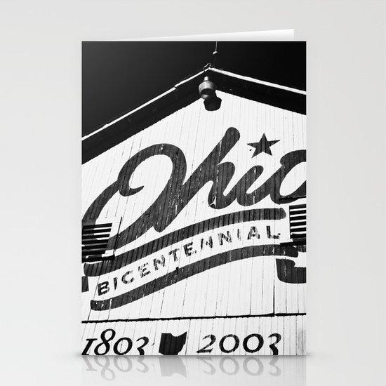 OHIO B&W Stationery Cards