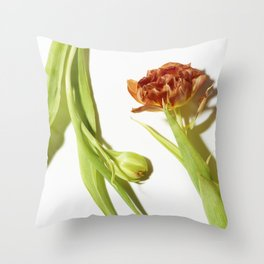Bud & Bloom Throw Pillow