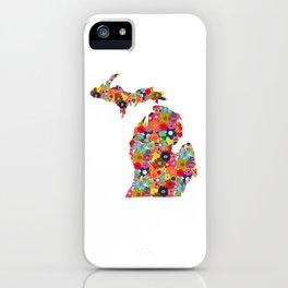 Michigan Love iPhone Case