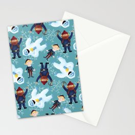 Yukon Hermey and Bumble Stationery Cards