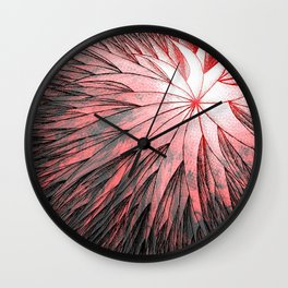 Abstract Flower2 Wall Clock