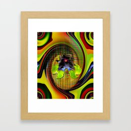 Abstract Perfection 7 Lilie Framed Art Print