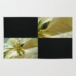 Pale Yellow Poinsettia 1 Blank Q2F0 Rug