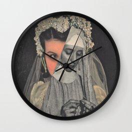 Wedded To The Idea Wall Clock