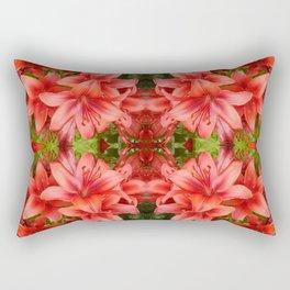"""A Gathering of Lilies"" Remix - 5 (2-1) [D4471~15] Rectangular Pillow"