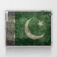The National Flag of Pakistan - Vintage Version Laptop & iPad Skin