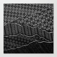 Pattern Madness Canvas Print