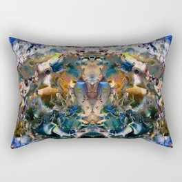 Sacred Molecule Rectangular Pillow