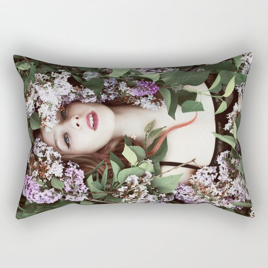 Lilacs Rectangular Pillow