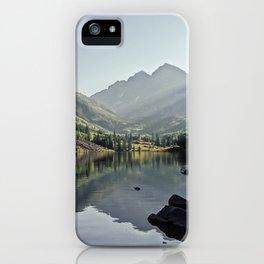 Maroon Bells 2 iPhone Case