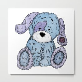 Cuddly Dog Metal Print