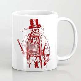 Skeleton gentlemen - Elegant zombie Coffee Mug