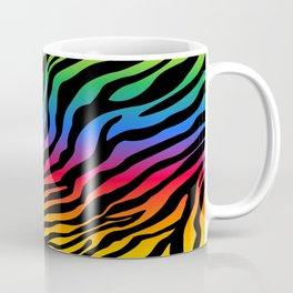 Zazzy Zebras - Rainbow Coffee Mug