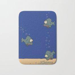 Feed The Fish Bath Mat