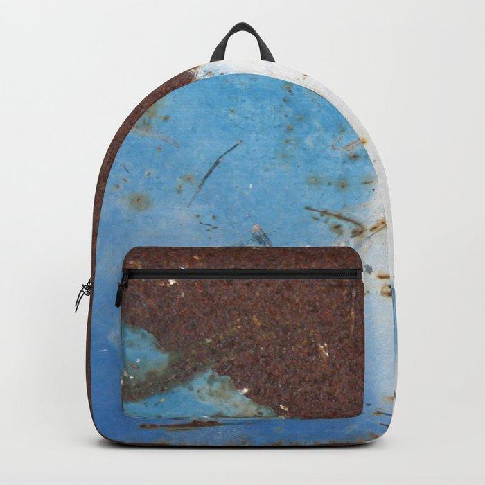 Rusty Metal Backpack