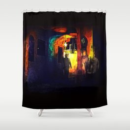 Ill-Fated Entry Shower Curtain