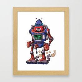 Robot USA Framed Art Print